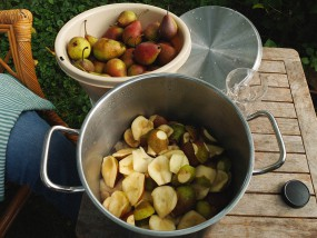 """Obst """"schnibbeln"""" – für leckeren Apfelkuchen?"""