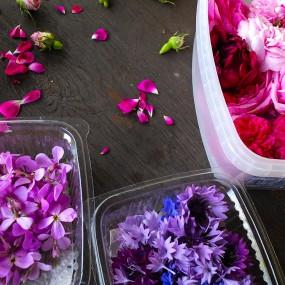 … essbare Blüten im Monat Juni