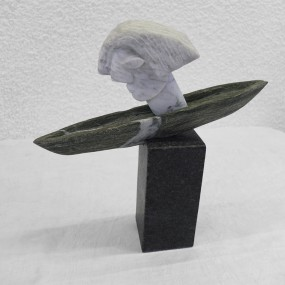 Kopf mit Schiff – Wolfgang Christel