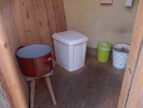 Komposttoilette - Innenleben