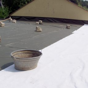 Dachfolie und Sicherheitsfolie für Drainage