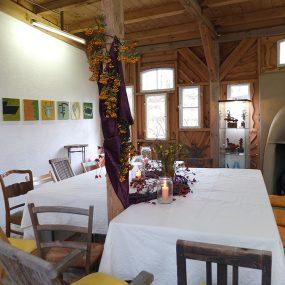 Gemütlicher Galerieraum