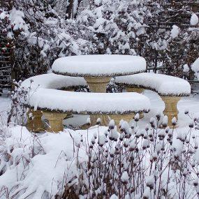 Der Naturgarten im Winter