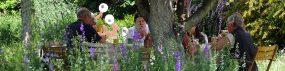 private Events im Garten feiern