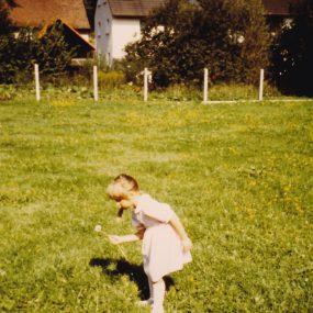 Hauswiese im Jahr 1991
