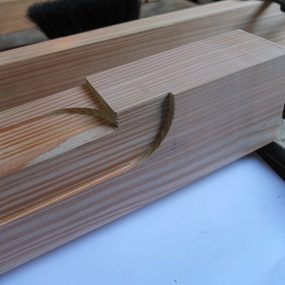 Detailarbeit im Holz