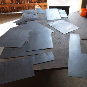 Stahlblechzuschnitte