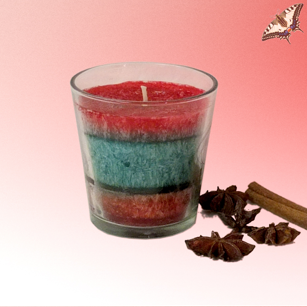 Duftkerze im Glas - Weihnachtstraum