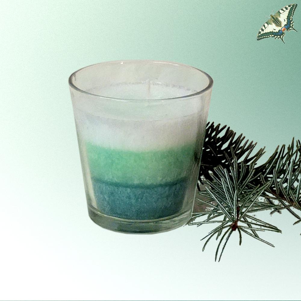 Duftkerze im Glas - Winterzauber
