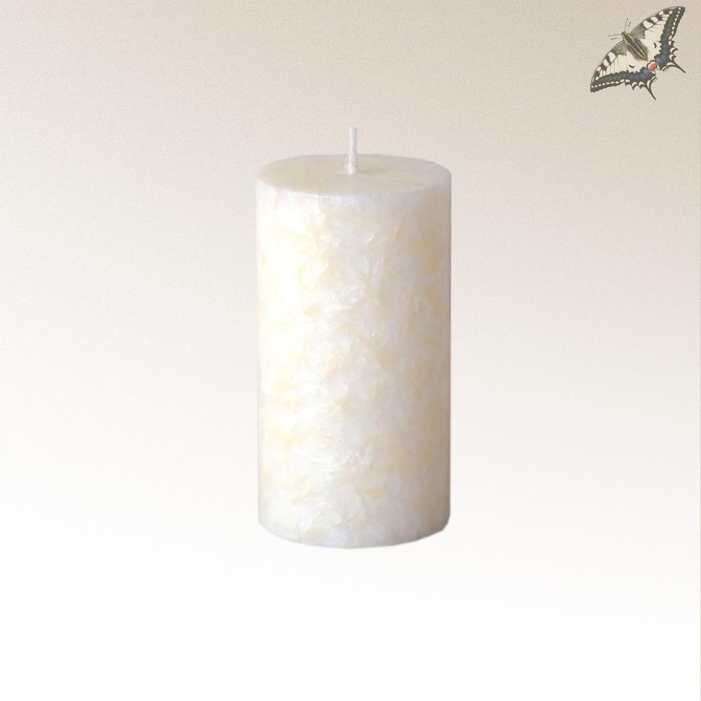 Stearin-Kerze Elfenbein 90 mm