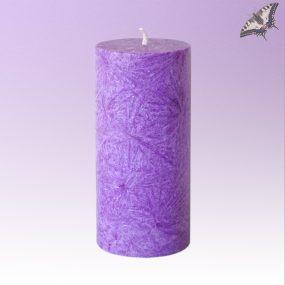 Stearinkerze Violett Höhe 135 mm