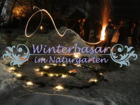 Winterbasar im Naturgarten