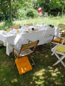 Frühstück-Spätstück - Brunch im Naturgarten