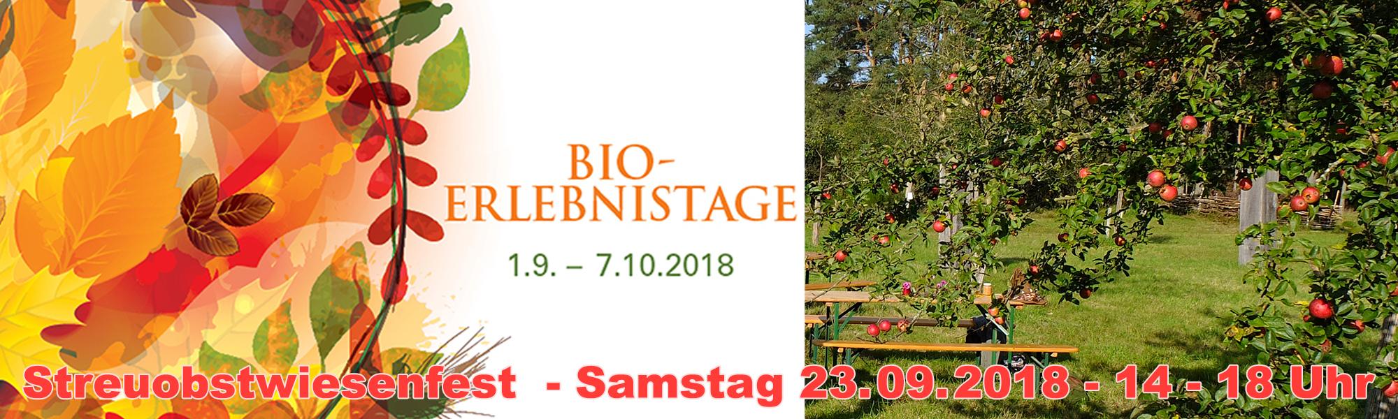 Streuobstwiesenfest - Barthelmesaurach
