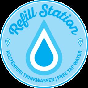 Refill Station - Kostenfrei Trinkwasser